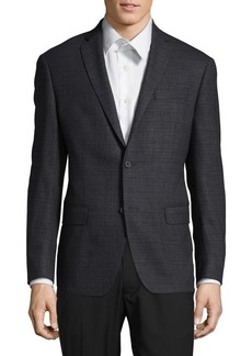 Michael Kors Slim-Fit Wool-Blend Blazer