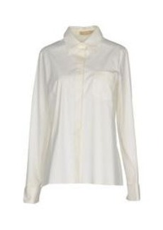 MICHAEL KORS COLLECTION - Solid color shirts & blouses