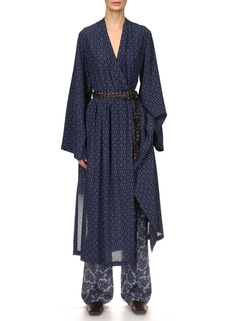 Michael Kors Collection - Women's Silk Pajama Pants - Multi - Moda Operandi