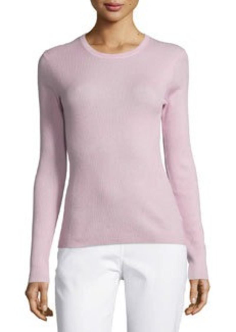 Michael Kors Jewel-Neck Cashmere Sweater