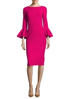 Michael Kors Bell-Sleeve Dress