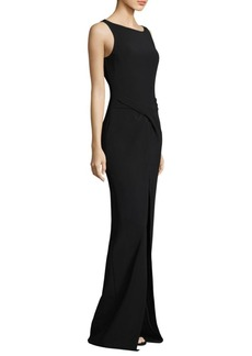 Michael Kors Cady Sarong Gown