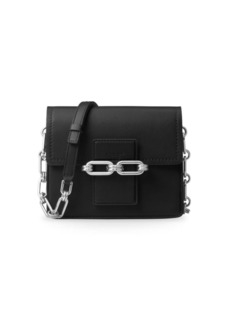 Michael Kors Collection Cate Small Leather Shoulder Bag