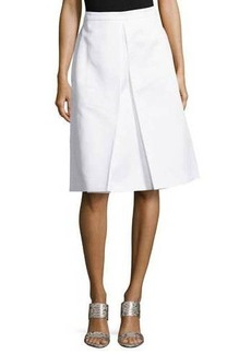 Michael Kors Center-Pleat Skirt