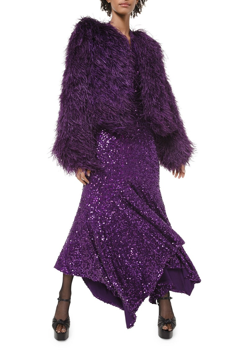 Michael Kors Collection Chubby Feather Jacket