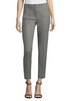 Michael Kors Core Samantha Wool-Blend Crop Pants