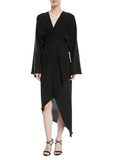 Michael Kors Collection Crepe de Chine Kimono Dress