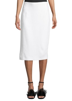Michael Kors Collection Crepe Sable Pencil Skirt
