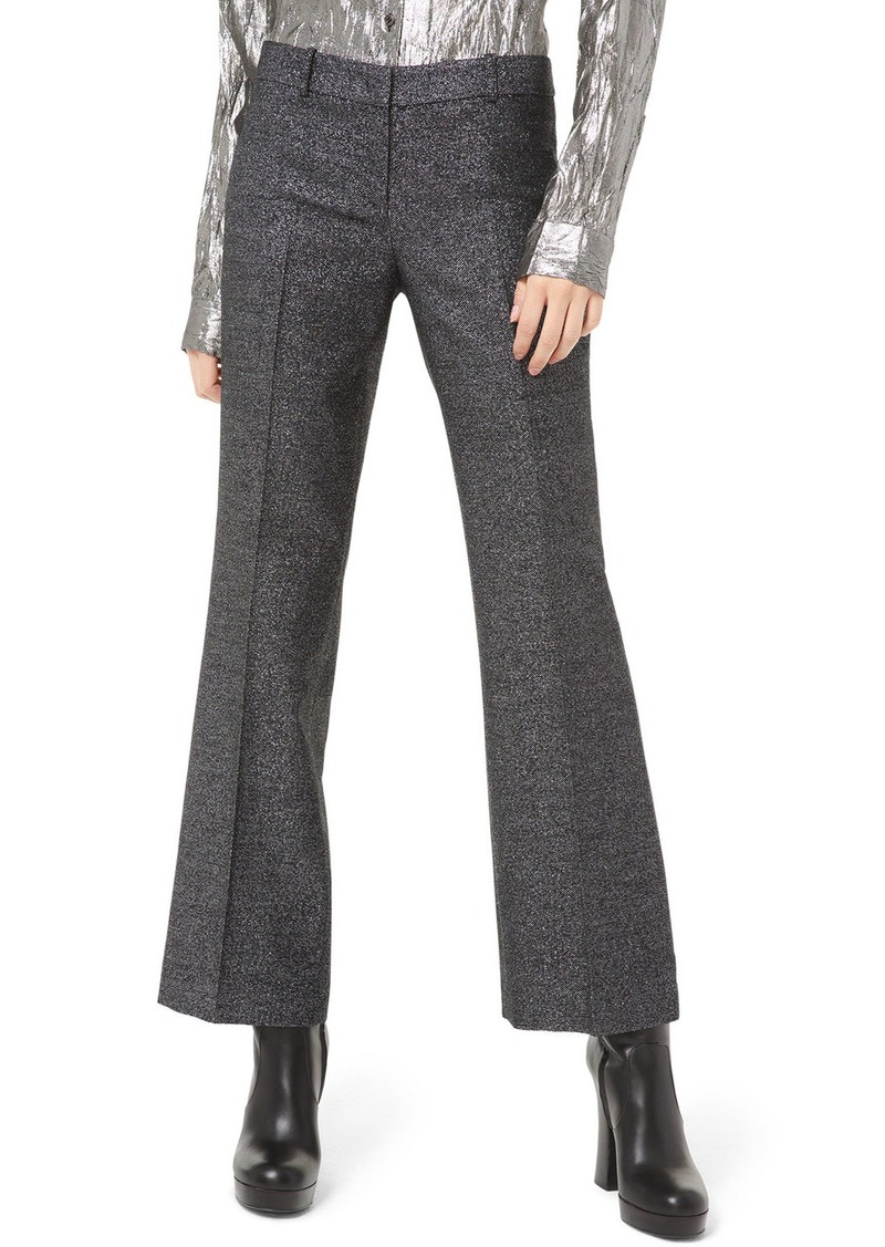 Michael Kors Collection Cropped Flare-Leg Trousers