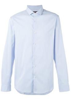 Michael Kors curved hem shirt