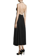 Michael Kors Cutout Maillot Midi Dress