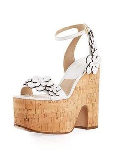 Michael Kors Collection Debbie Cork Platform Sandal