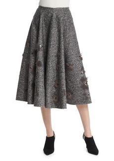 Michael Kors Embellished Dance Skirt