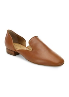Michael Kors Collection Fielding Leather Loafers