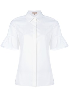 Michael Kors Collection flared sleeve shirt - White