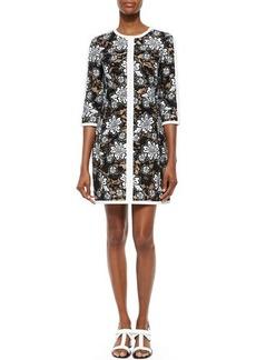 Michael Kors Floral Lace Shift Dress