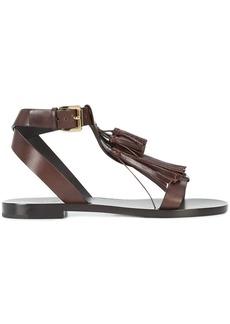 Michael Kors fringed sandals