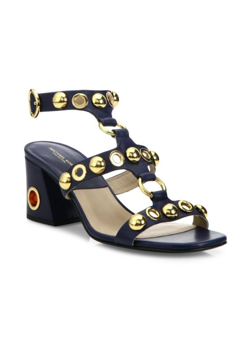 Michael Kors Collection Kat Runway Leather Sandals