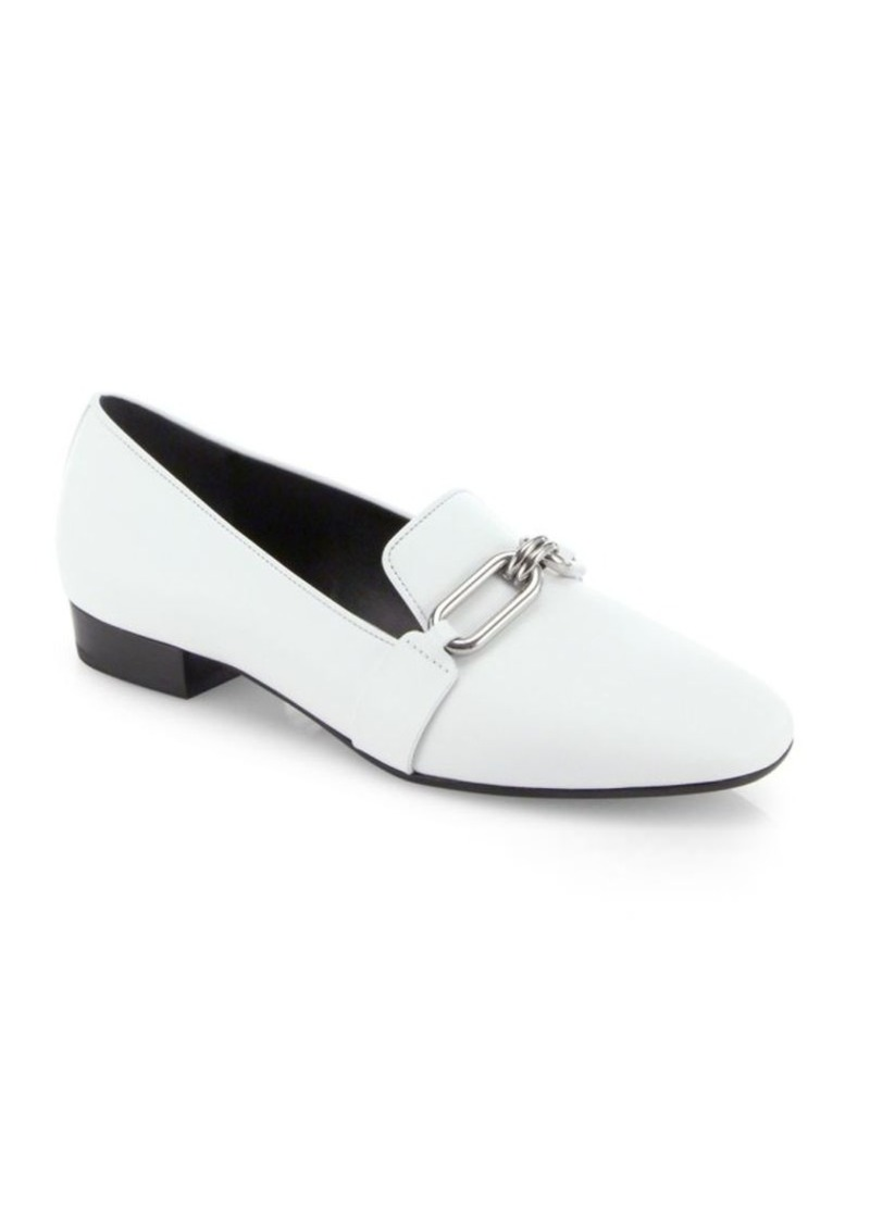 76bc113a1a2 SALE! Michael Kors Lennox Leather Loafers