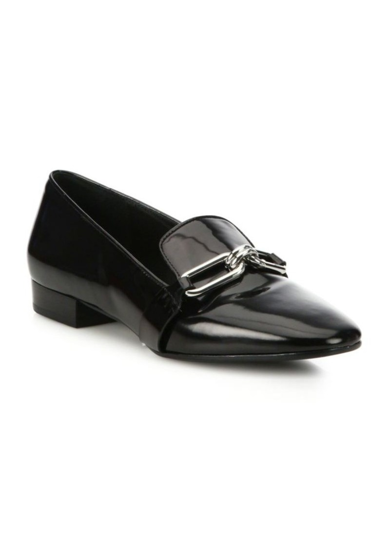 6e9139408b3 On Sale today! Michael Kors Lennox Patent Leather Loafers