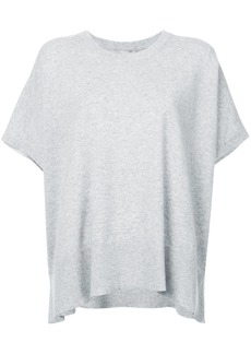Michael Kors Collection loose fit knitted top - Grey