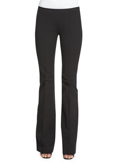 Michael Kors Mid-Rise Flare-Leg Pants