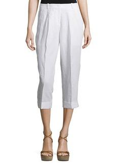 Michael Kors Mid-Rise Slouchy Capri Pants