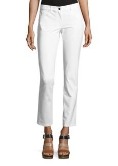 Michael Kors Mid-Rise Straight-Leg Jeans