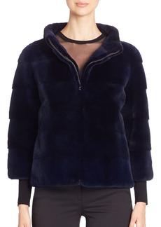 Michael Kors Mink Fur Jacket
