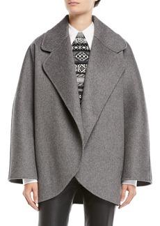 Michael Kors Collection Oversized Wool Jacket