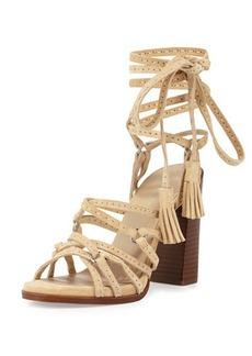 Michael Kors Rowan Suede Lace-Up Sandal