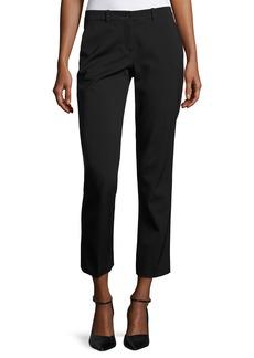 Michael Kors Samantha Cropped Straight-Leg Pants