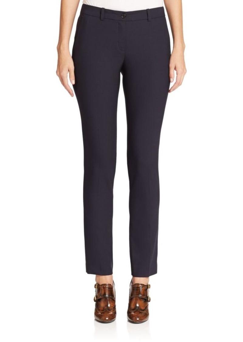 Michael Kors Collection Samantha Stretch-Wool Skinny Pants