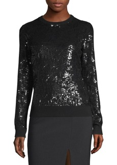 Michael Kors Sequin Cashmere Pullover