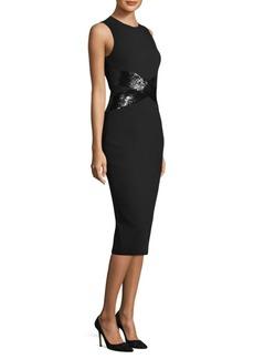 Michael Kors Sequin Crisscross Dress