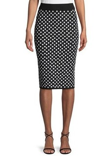 Michael Kors Collection Sequined Pencil Skirt