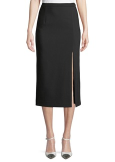 Michael Kors Collection Side-Slit Pencil Skirt