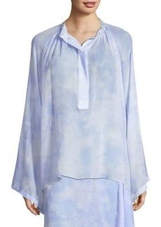 Michael Kors Silk Chiffon Blouse