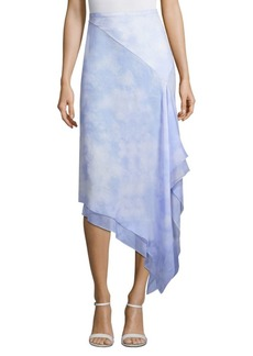 Michael Kors Silk Chiffon Skirt