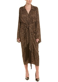 Michael Kors Collection Silk Kimono Dress