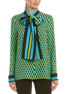 Michael Kors Collection Silk Top