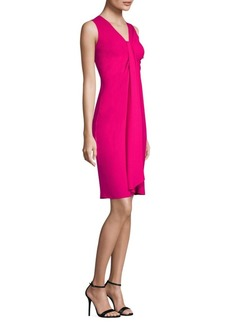 Michael Kors Silk Twist Shift Dress