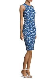 Michael Kors Sleeveless Floral Dress
