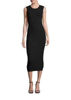 Michael Kors Collection Sleeveless Patterned Dress