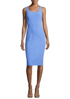 Michael Kors Collection Sleeveless Virgin Wool Sheath Dress