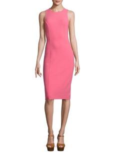 Michael Kors Collection Sleeveless Wool Dress