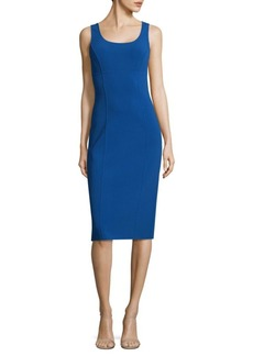 Michael Kors Sleeveless Wool-Blend Mini Dress