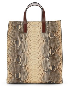 Michael Kors Collection Snakeskin Tote
