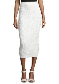 Michael Kors Collection Soutache-Embroidered Midi Skirt