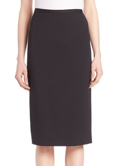 Michael Kors Stretch Gabardine Pencil Skirt